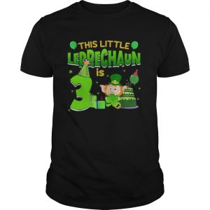 15835551773rd Birthday St. Patrick's Day  Unisex