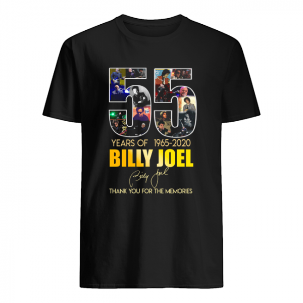 55 Years Of 1965 2020 Billy Joel Thank You For The Memories  Classic Men's T-shirt