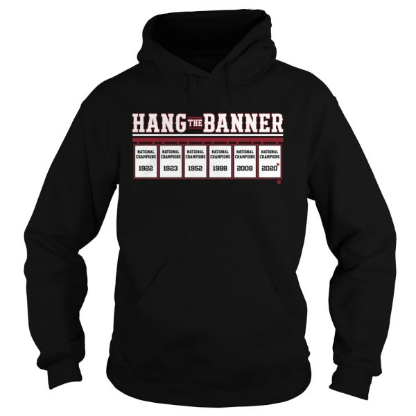 Hang The Banner National Champions  Hoodie