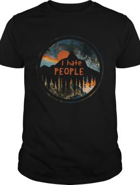I Hate People Sunset shirt