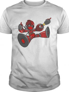Megaman Deadpool Capcom And Marvel Mashup shirt