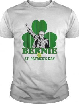Top Bernie Sanders For St Patricks Day 2020 President Shamrock shirt
