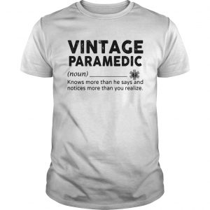 Vintage Paramedic Define knows more than he says  Unisex