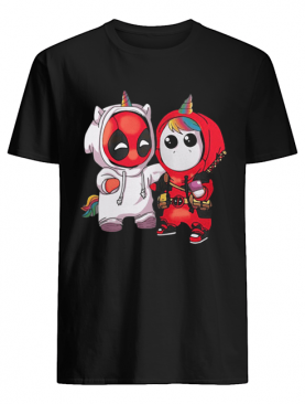 Baby Deadpool and Unicorn shirt