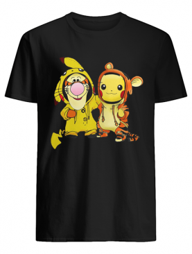 Baby Tigger and Pikachu shirt