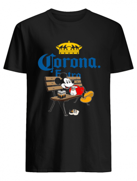 Mickey Mouse Drink Corona Extra shirt
