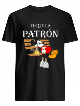 Mickey Mouse Drink Tequila Patron shirt
