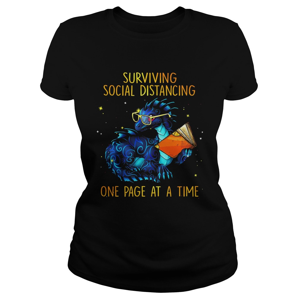 Surviving social distancing one page at a time Dragon  Classic Ladies