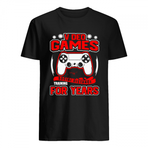 Video Games Social Distance Training For Years  Classic Men's T-shirt