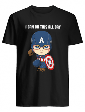 Captain Marvel I can do this all day shirt