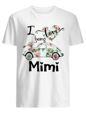 Floral I love being a mimi shirt