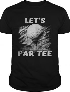 Golf lets par shirt