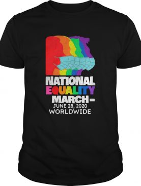 National Equality March June 28 2020 Worldwide shirt
