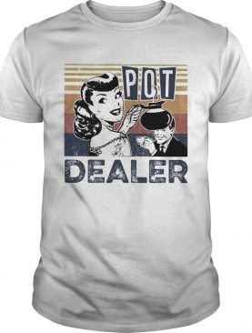 Pretty Coffee Lover Pot Dealer Vintage shirt