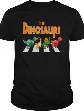 The dinosaurs abbey road shirt