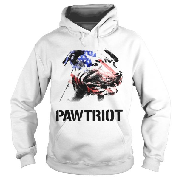 American Pit Bull Terrier Pawtriot 4th Of July Independence Day  Hoodie