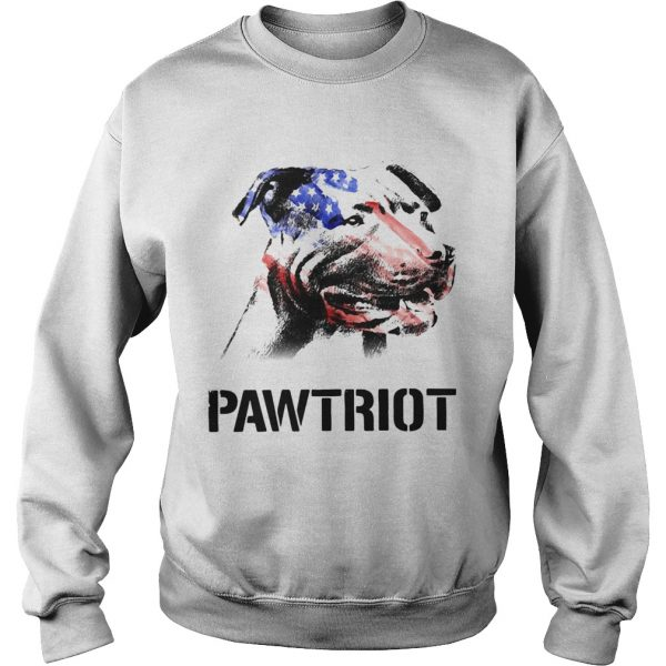 American Pit Bull Terrier Pawtriot 4th Of July Independence Day  Sweatshirt