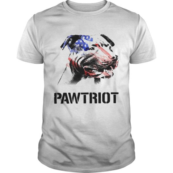 American Pit Bull Terrier Pawtriot 4th Of July Independence Day  Unisex