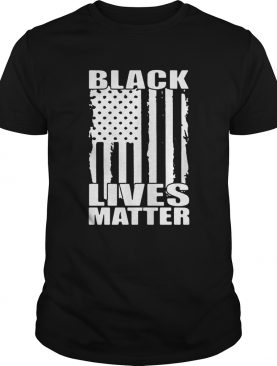 Black Lives Matter American Flag Justice For George Floyd shirt