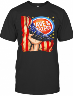 Dave And Busters American Flag Independence Day T-Shirt