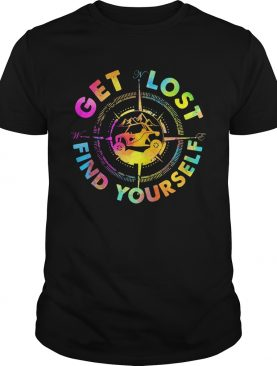 Get lost find yourself shirt
