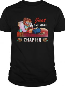 Girl Just One More Chapter shirt