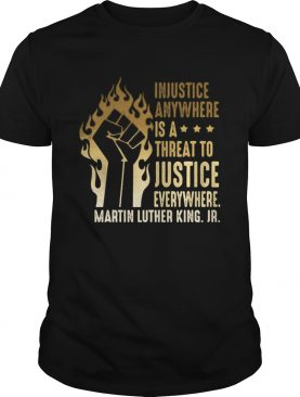 Injustice Anywhere Is A Threat To Justice Everywhere Martin Luther King Jr Black Lives Matter Histo