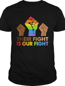Lgbt their fight is our fight shirt