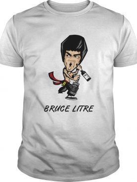 Pruce Litre with Wine Pruce Lee shirt