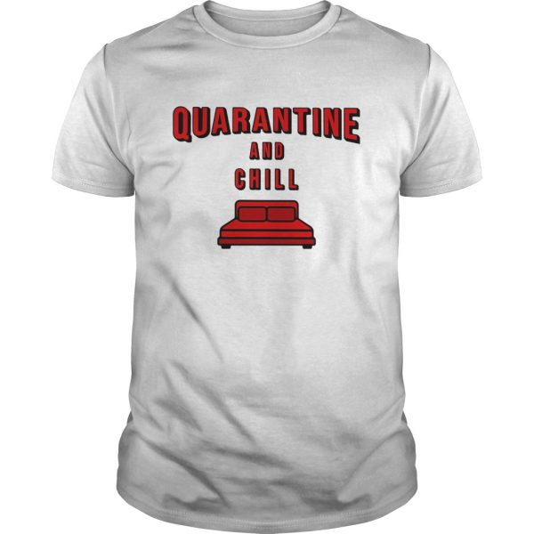 Quarantine and chill red bed  Unisex