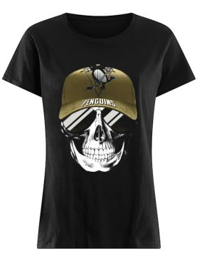 Skull smile pittsburgh penguins hockey shirt