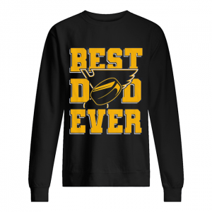 St. louis blues best dad ever happy father's day  Unisex Sweatshirt