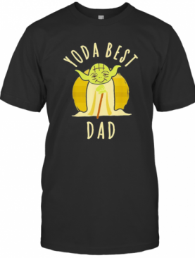 Star Wars Master Yoda Best Dad Father'S Day Vintage Retro T-Shirt