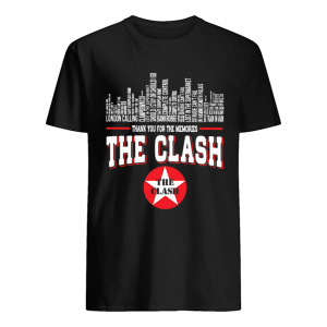 Thank you for the memories the clash  Classic Men's T-shirt
