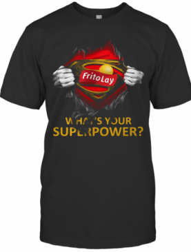 Blood Insides Superman Frito Lay What'S Your Superpower T-Shirt