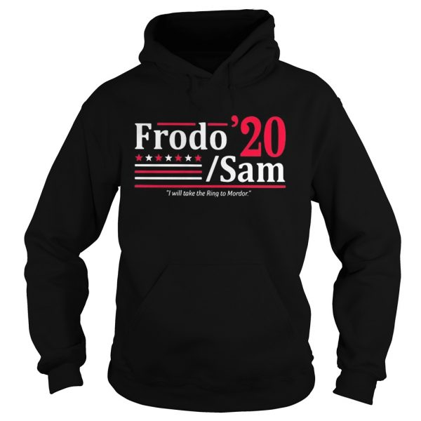 Frodo 2020 sam i will take the ring to mordor stars  Hoodie