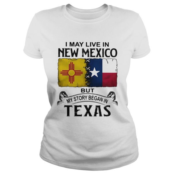 I may live in new mexico but my story began in texas  Classic Ladies