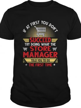 If at first you dont succeed try doing what the store manager told you to do the first time stars