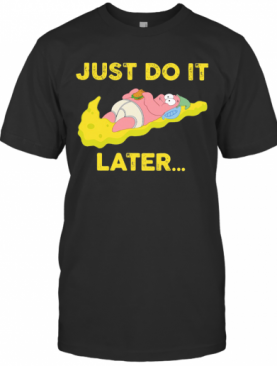 Just Do It Later Baby Nike Yellow T-Shirt