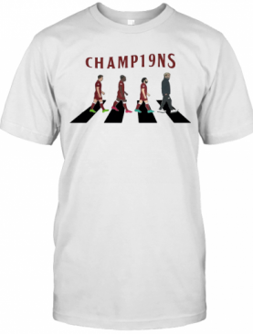 Liverpool Fc Champions Abbey Road T-Shirt
