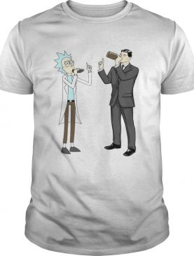 Rick and morty archer drink wine shirt
