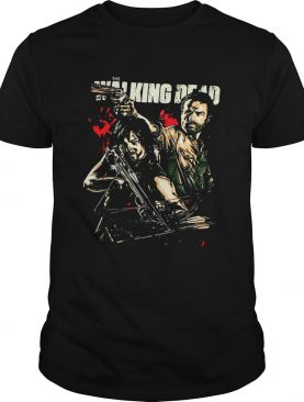 The Walking Dead Daryl and Rick shirt