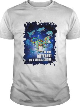 Trex im not different im a special edition shirt