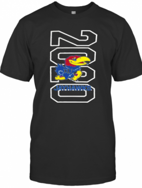 2020 Kansas Jayhawks Basketball Logo T-Shirt