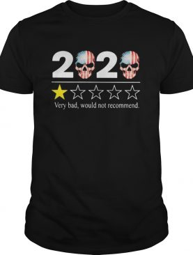 2020 very bad would not recommend Skull American Flag shirt