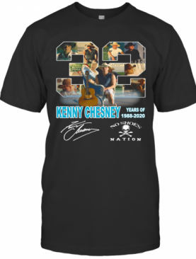 32 Kenny Chesney Years Of 1988 2020 Signature T-Shirt