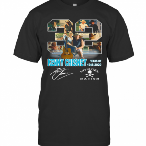 32 Kenny Chesney Years Of 1988 2020 Signature T-Shirt Classic Men's T-shirt