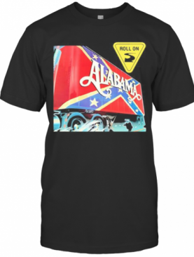 Alabama Band Roll On British Flag T-Shirt
