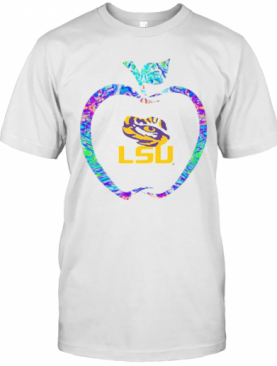 Apple Lsu Tigers Football Logo T-Shirt