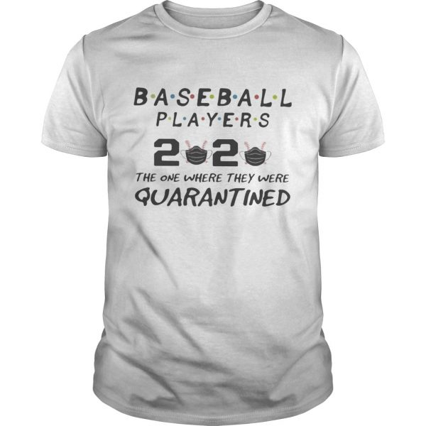 Baseball players 2020 the one where they were quarantined mask  Unisex